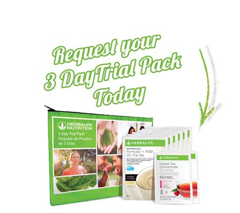 3Day Trial Pack   Herbalife